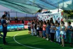 Encerramento do ano letivo em Pousada de Saramagos