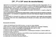 Renovação de Matrícula 2018 / 2019 - 5º. 7º e 10º anos)