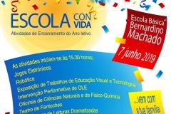 ESCOLA CONVIDA | Atividades de Encerramento do Ano Letivo na EBBM