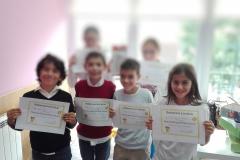 Alunos do 1.º Ciclo participam no Spelling Contest