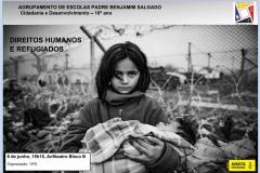 """Alunos do AEPBS assistem a palestra sobre """"Direitos Humanos e Refugiados"""""""