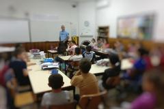 """Alunos da EB de Estalagem marcam presença na Palestra """"Prevenção Rodoviária"""""""